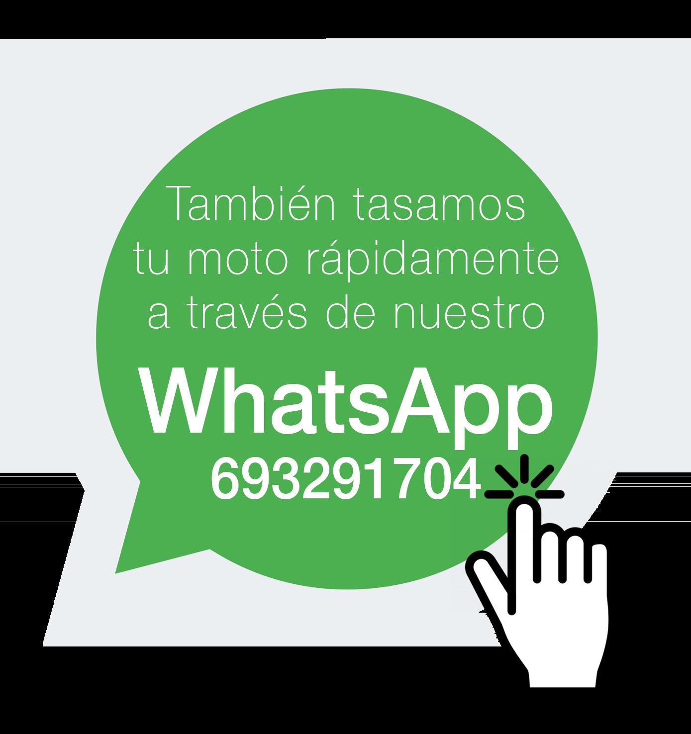 tasacion de moto por whatsapp